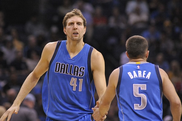 Mavericks to Sit Three Starters Tuesday Against the Kings