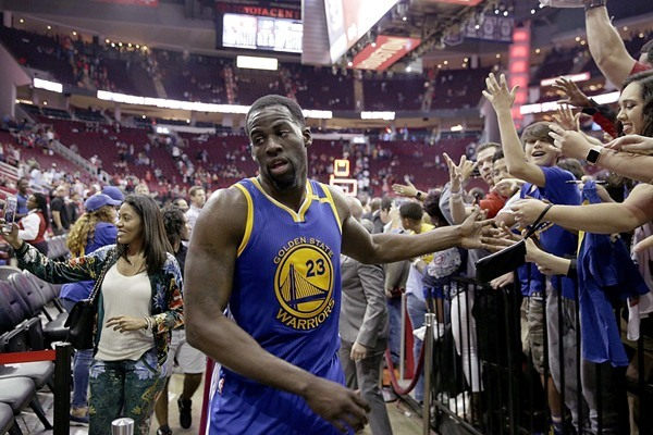 Warriors F Draymond Green to Rest for Team's Season Finale