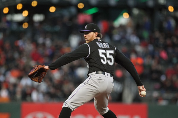 Colorado Rockies SP Jon Gray Placed on 10-Day Disabled List
