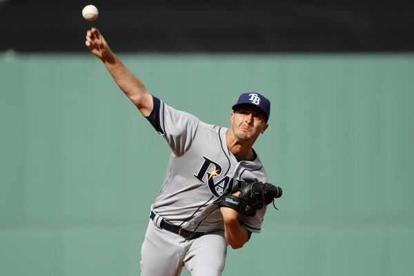 Tampa Bay Rays SP Jake Odorizzi Exits Start with Pulled Hamstring