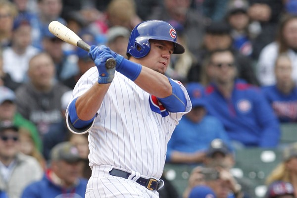 Fantasy Alert: Kyle Schwarber, Jason Heyward Both Getting Days off on Wednesday