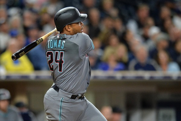 Fantasy Alert: Diamondbacks Resting Three Starters Sunday, Including Yosmany Tomas