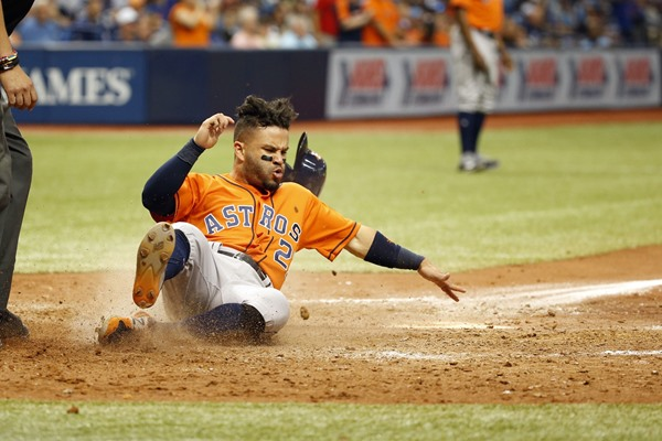 George Springer, Jose Altuve Both Out of Astros Lineup on Wednesday