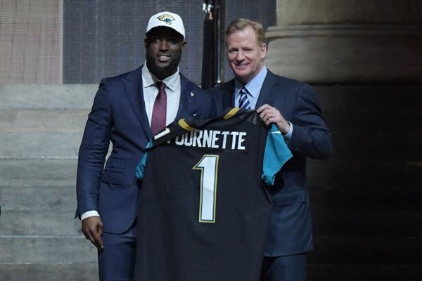 NFL Draft Fantasy Slant: Jacksonville Jaguars Select RB Leonard Fournette