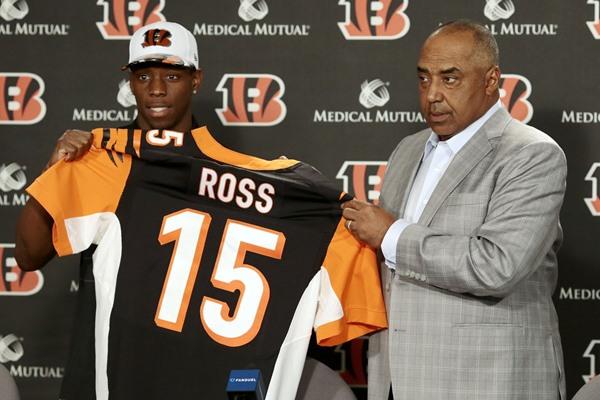 NFL Draft Fantasy Slant: Cincinnati Bengals Select WR John Ross