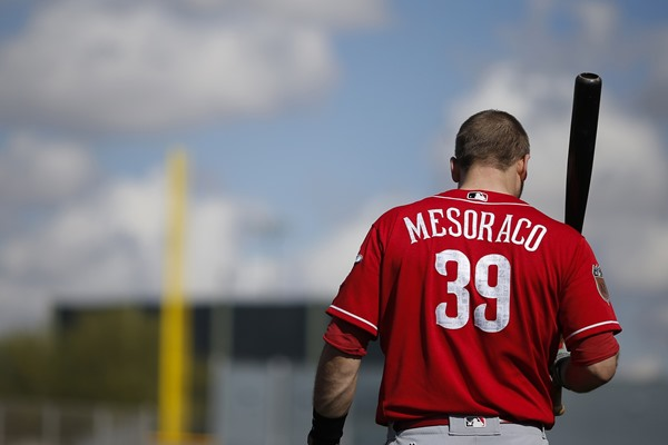 Reds Activate C Devin Mesoraco from Disabled List