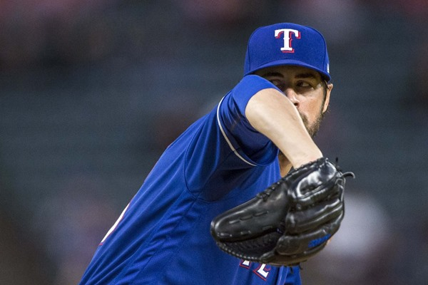 Texas Rangers SP Cole Hamels (Oblique) Out for at least Eight Weeks