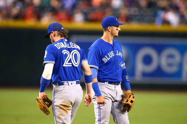 Toronto Blue Jays 3B Josh Donaldson and SS Troy Tulowitzki  Could Return from DL on Monday