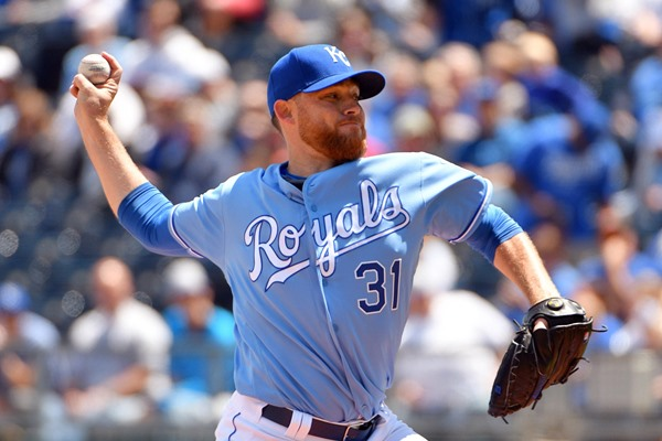 Kansas City Royals Place SP Ian Kennedy on Disabled List