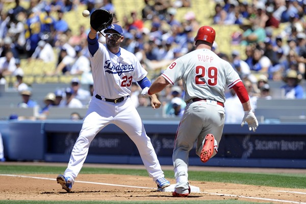 Los Angeles Dodgers 1B Adrian Gonzalez Headed to Disabled List, Cody Bellinger to Start