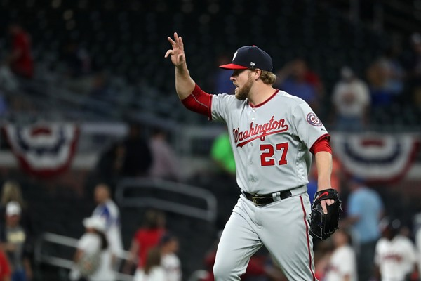 Washington Nationals Place CP Shawn Kelley on Disabled List