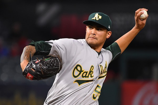 A's Activate SP Sean Manaea From Disabled List