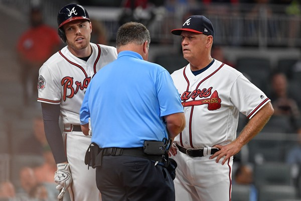 Braves 1B Freddie Freeman Could Miss 8-10 Weeks with Wrist Injury