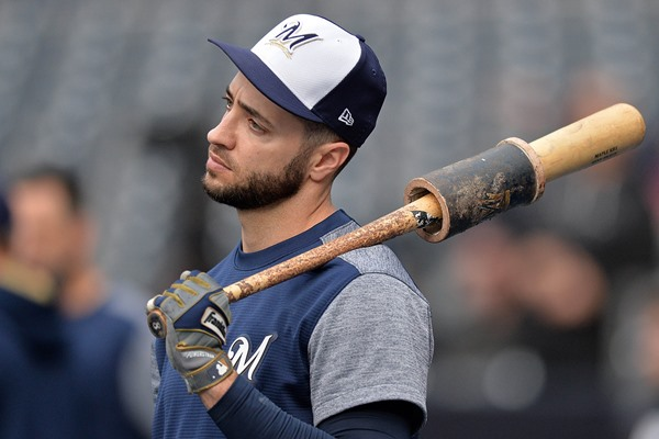 Brewers Place OF Ryan Braun on Disabled List