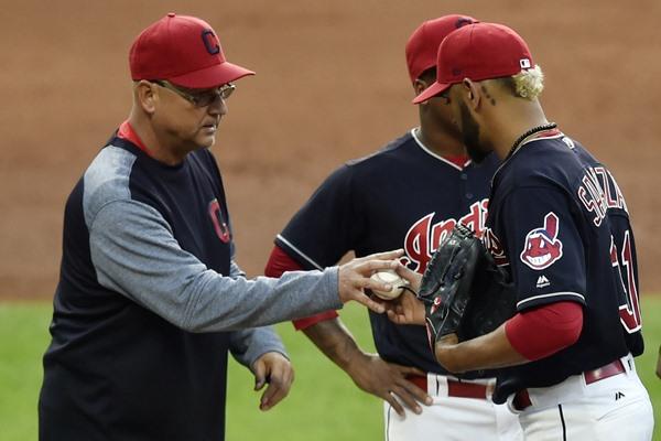 Cleveland Moves SP Danny Salazar to the Bullpen