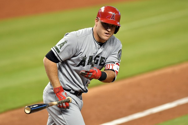 Angels OF Mike Trout Diagnosed with Torn UCL, Could Miss 5-8 Weeks