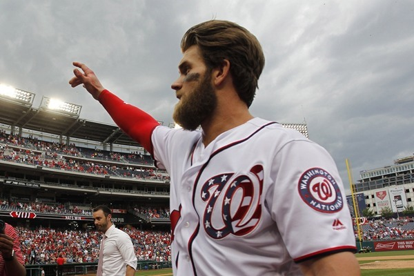 Fantasy Slant: Bryce Harper's Suspension Reduced to Three Games