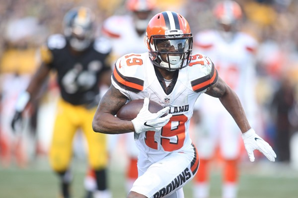 Browns WR Corey Coleman Could Be Out Until Training Camp