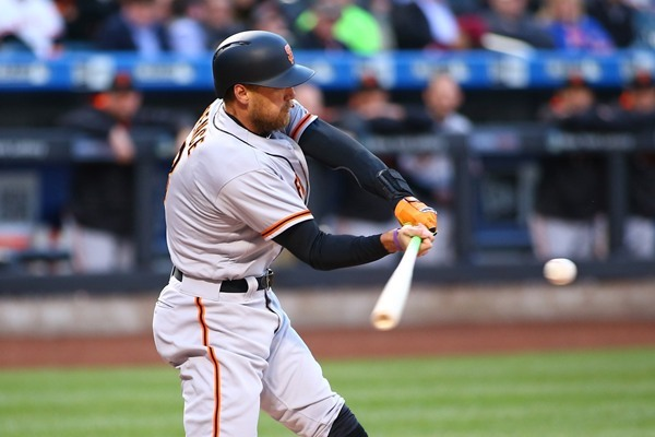 Giants Activate Hunter Pence from DL, Demote Christian Arroyo