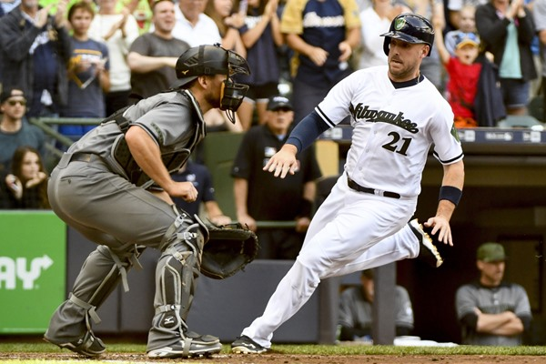 Fantasy Slant: Brewers Place Travis Shaw on Paternity Leave