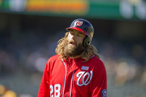 Injury Alert: Nationals Place OF Jayson Werth on 10-Day Disabled List