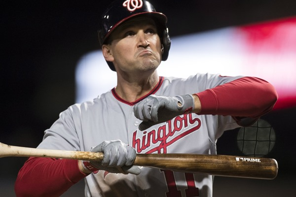 Injury Alert: Nationals 1B Ryan Zimmerman Returns to the Lineup