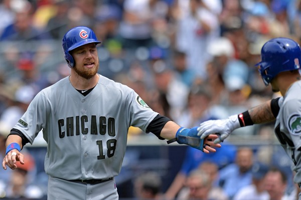 Cubs 2B Ben Zobrist (Wrist) Placed on Disabled List