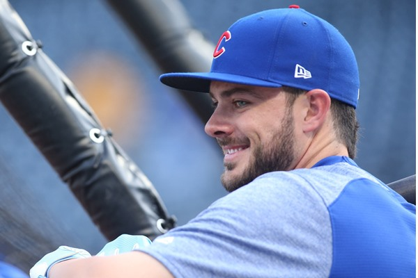 Cubs 3B Kris Bryant Out of Lineup on Sunday