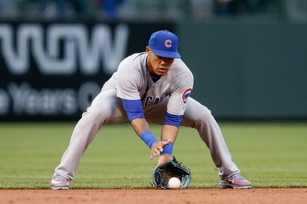 Cubs SS Addison Russell Out of Lineup Monday