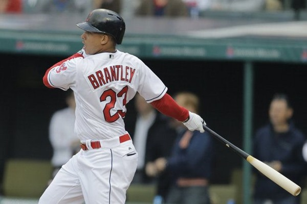 Injury Alert: Indians Place OF Michael Brantley on DL