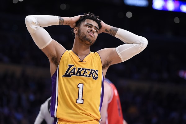 Fantasy Alert: Lakers Trade D'Angelo Russell to the Nets for Brook Lopez