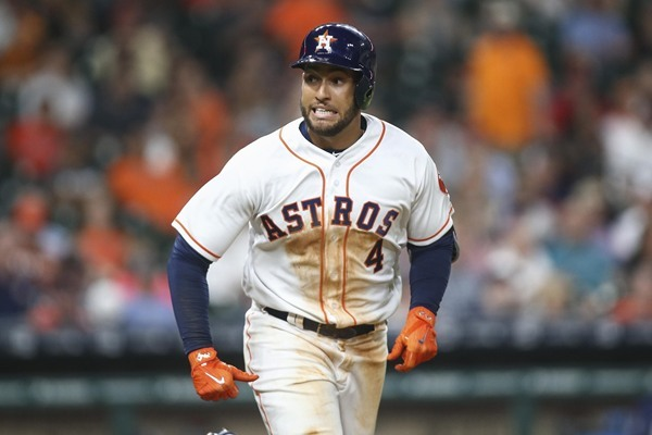 Injury Alert: Astros OF George Springer Leaves Game After Being Hit on Hand