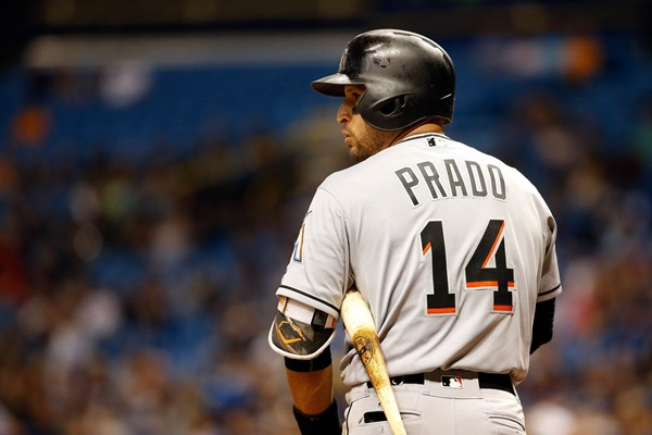Marlins 3B Martin Prado Activated Off the Disabled List