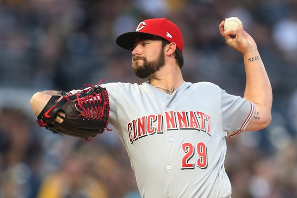 Reds SP Brandon Finnegan Could Rejoin Rotation on Monday