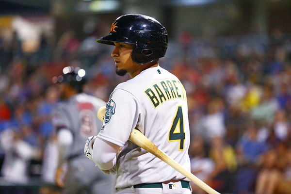 Rookie Fantasy Preview: Franklin Barreto, 2B, Oakland Athletics