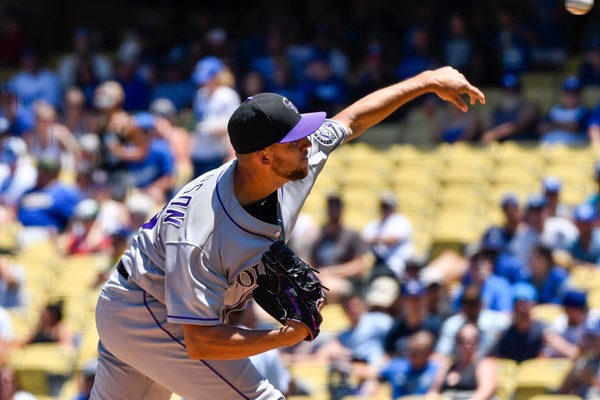 Rockies SP Tyler Anderson Placed on Disabled List