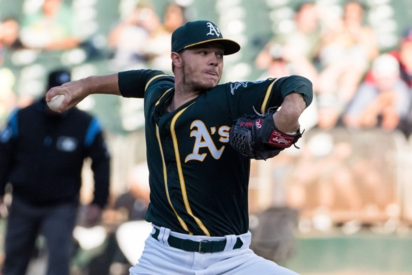 Athletics SP Sonny Gray Traded to New York Yankees