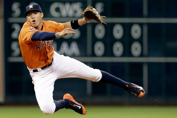 Injury Alert: Astros SS Carlos Correa Out 6-8 Weeks with Thumb Injury