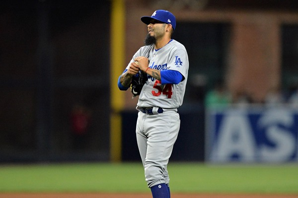 Dodgers RP Sergio Romo Designated for Assignment
