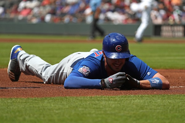 Cubs 3B Kris Bryant (Finger) Could Miss Rest of Weekend Series