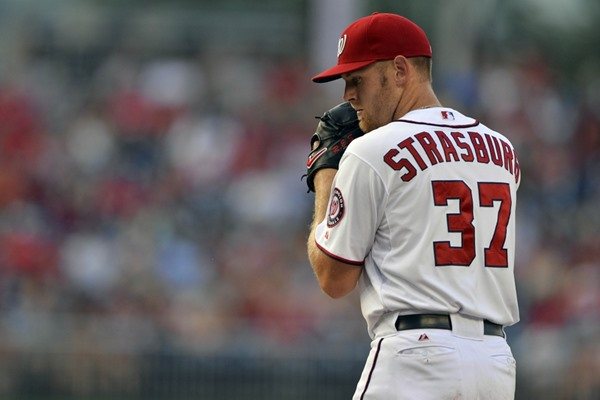 Injury Alert: Nationals SP Stephen Strasburg Leaves Game with Injury