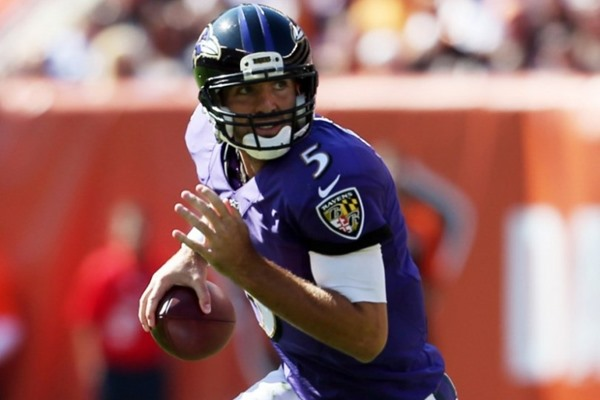 Fantasy Slant: Ravens QB Joe Flacco Could Miss 3-6 Weeks with Back Injury