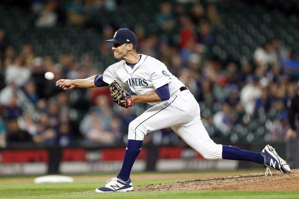 Mariners RP Steve Cishek Traded to Tampa Bay for Erasmo Ramirez