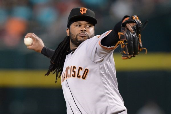 Injury Alert: Giants SP Johnny Cueto Pulled From Rehab Start with Arm Tightness