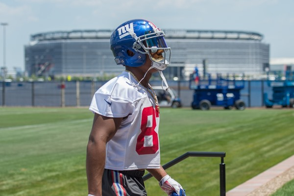 Injury Alert: Giants WR Sterling Shepard Suffers Ankle Sprain