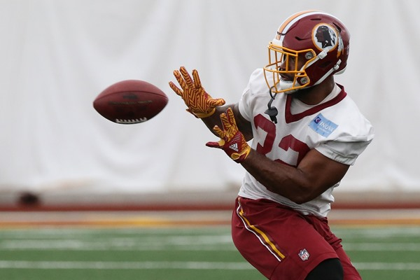 "Report: Samaje Perine Won't Unseat RB Rob Kelley ""Any Time Soon"""
