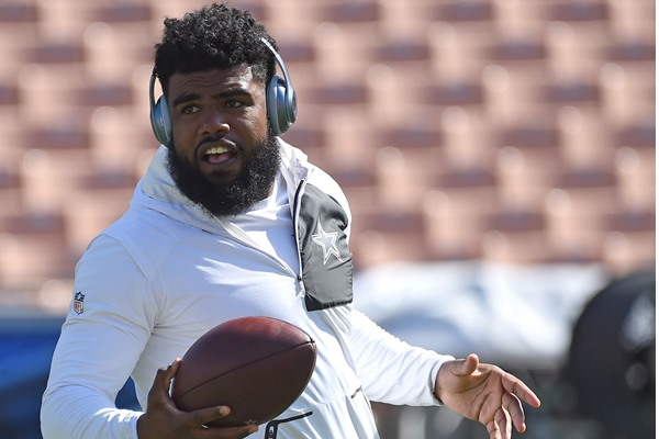Fantasy Football Mock Draft: Placing a Value on Ezekiel Elliott?