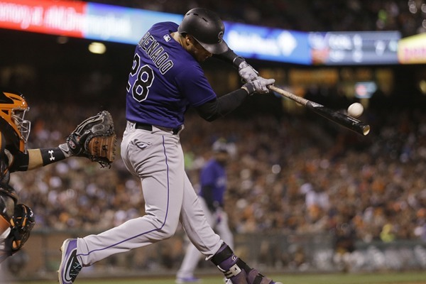 Rockies 3B Nolan Arenado Returns to Lineup Tuesday