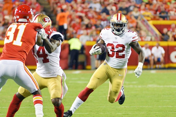 Fantasy Football Sleepers: Joe Williams and Matt Breida