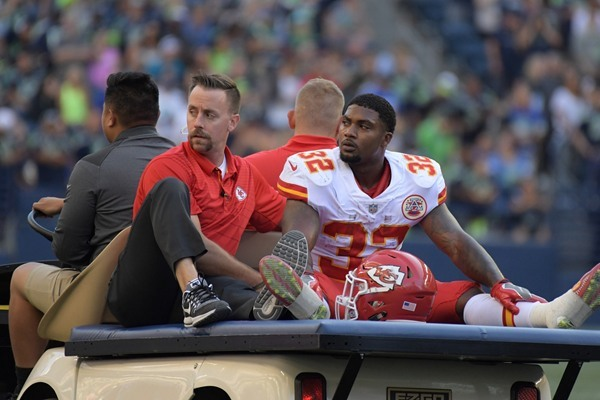 Injury Update: Chiefs' RB Spencer Ware Likely Out for the Season